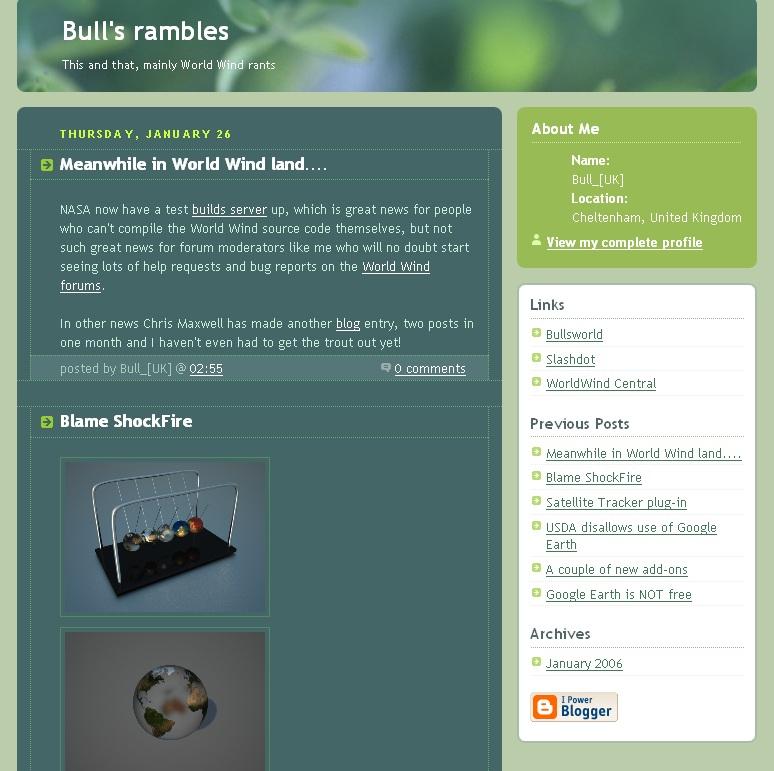 My fourth website