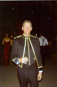 Martin Baker in dress uniform