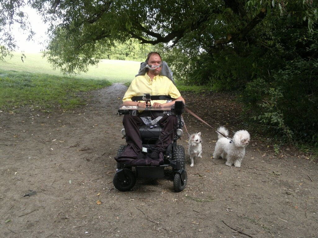 Me, Dexter and Peppa at Benhall park