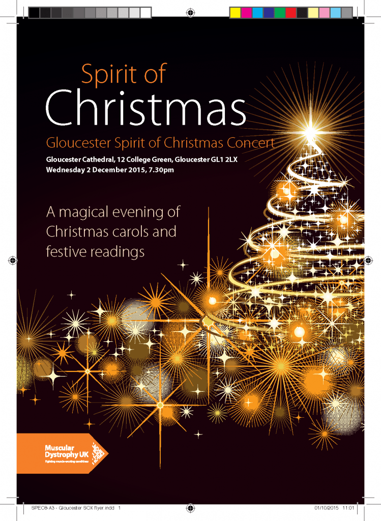 Spiri of Christmas 2015 flyer Christmas tree and lights