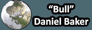 """Logo clear blue marble with """"Bull"""" Daniel Baker written beside it"""