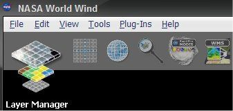 Planets add-on for NASA World Wind layer manager