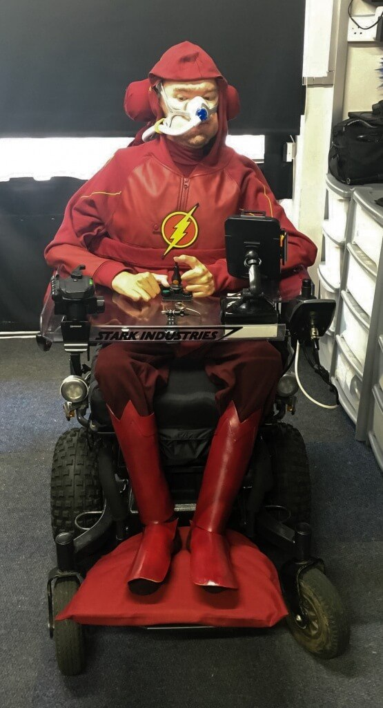 MCM London 2016 Cosplay Preview Daniel wearing his Flash costume
