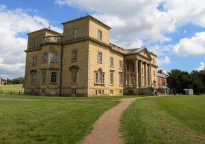 Croome with my Aunt Picture of Croome court from a side anglr