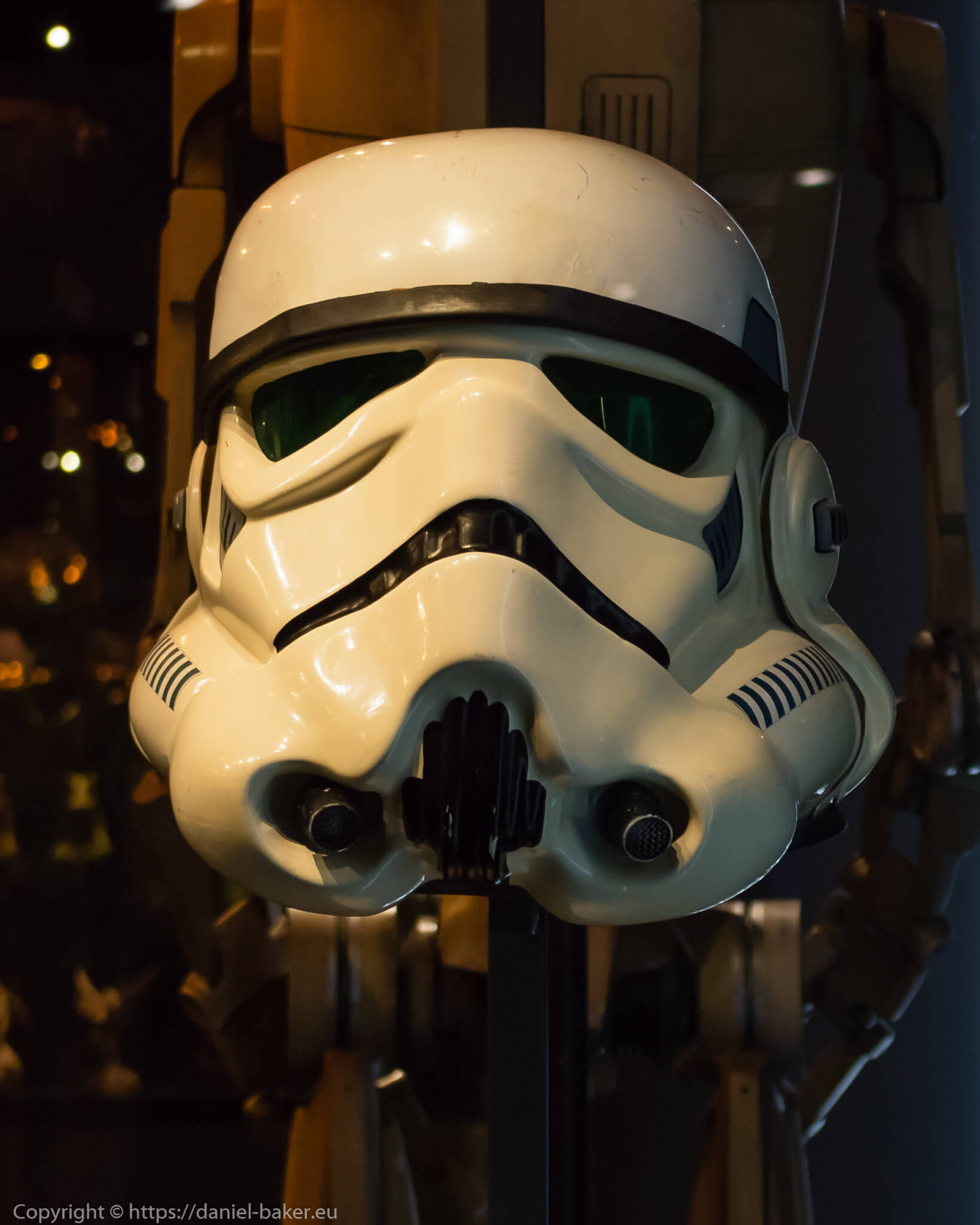 Storm Trooper mask at Star Wars Identities