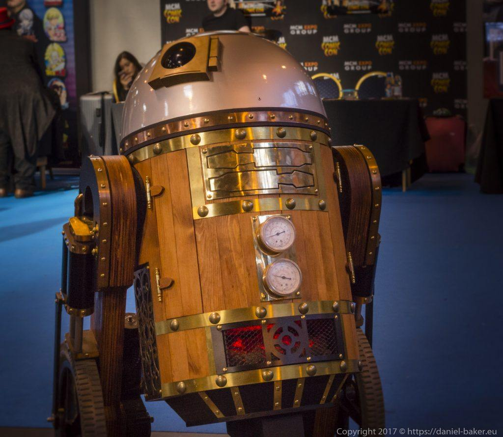 Steampunk R2 Unit