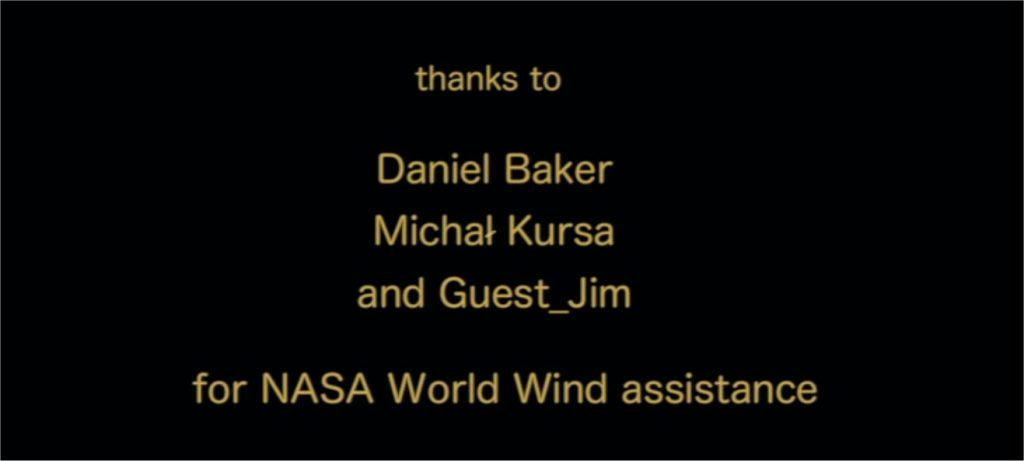 Watching Warblers West credits showing credit to Daniel Baker
