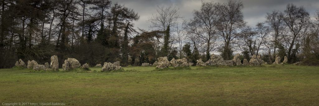 Finding Middle Earth - Photograph of a neolithic stone circle