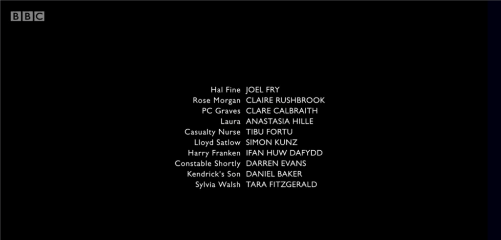 Requiem credits with Daniel Baker listed as Kendrick's son