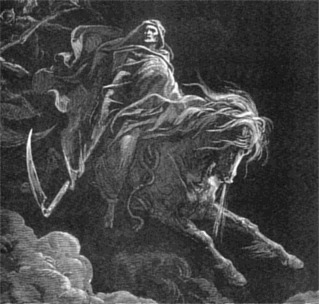 Picture of the Grim Reaper - Gustave_Dore_-_Death_on_the_Pale_Horse_(1865)