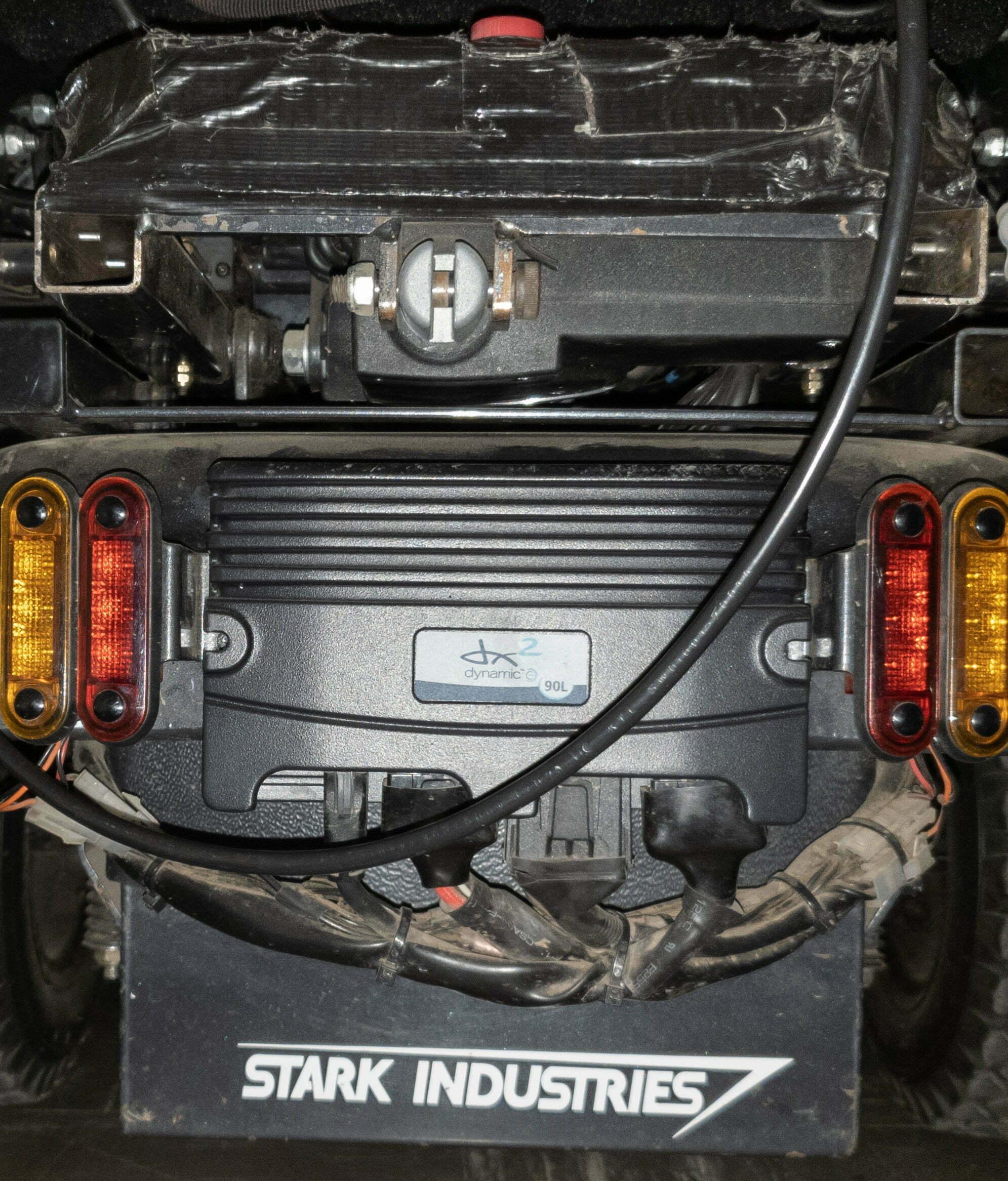 DX2 power module on frontier X5 wheelchair