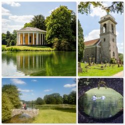 Mosaic of photos from West Wycombe