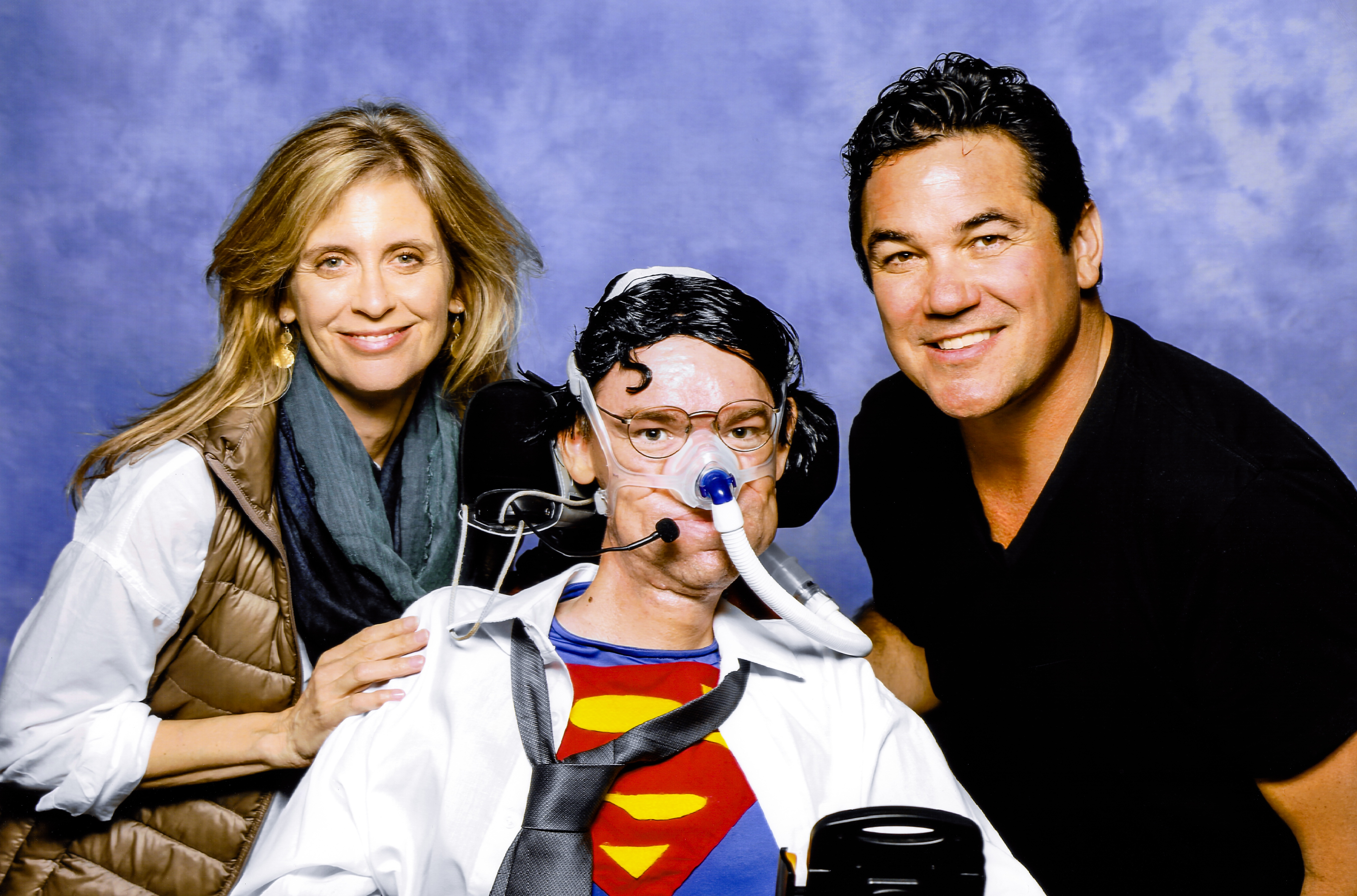 Helen Slater and Dean Cain
