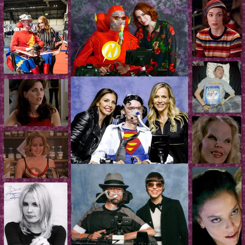 collage of from Buffy the Vampire Slayer celebrities