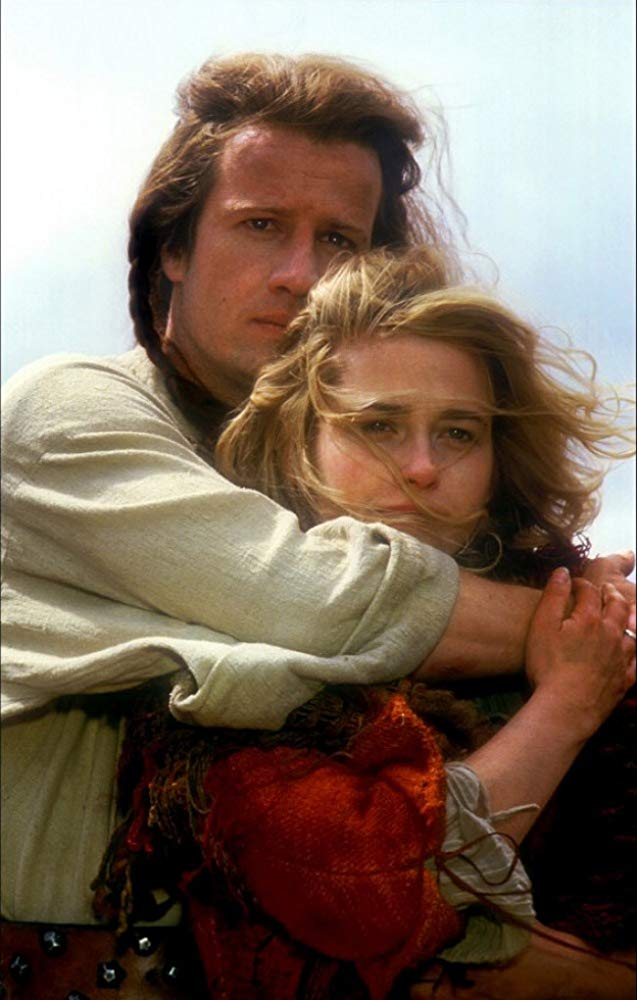 Beatie and Christopher in Highlander