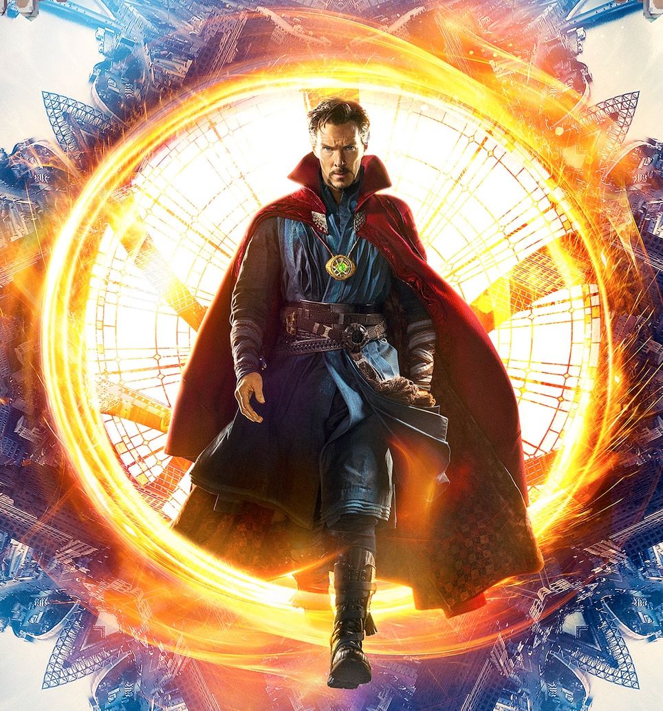 Benedict Cumberbatch as Dr Strange