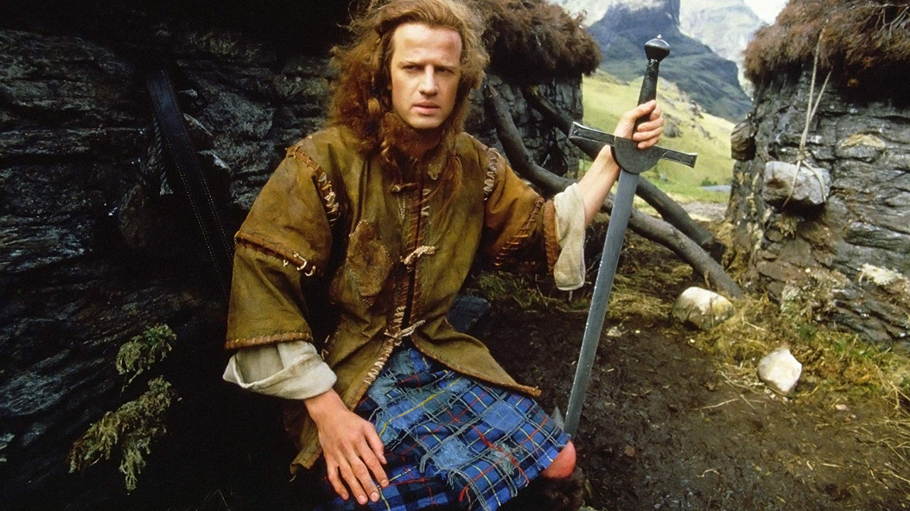 Christopher Lambert in Highlander