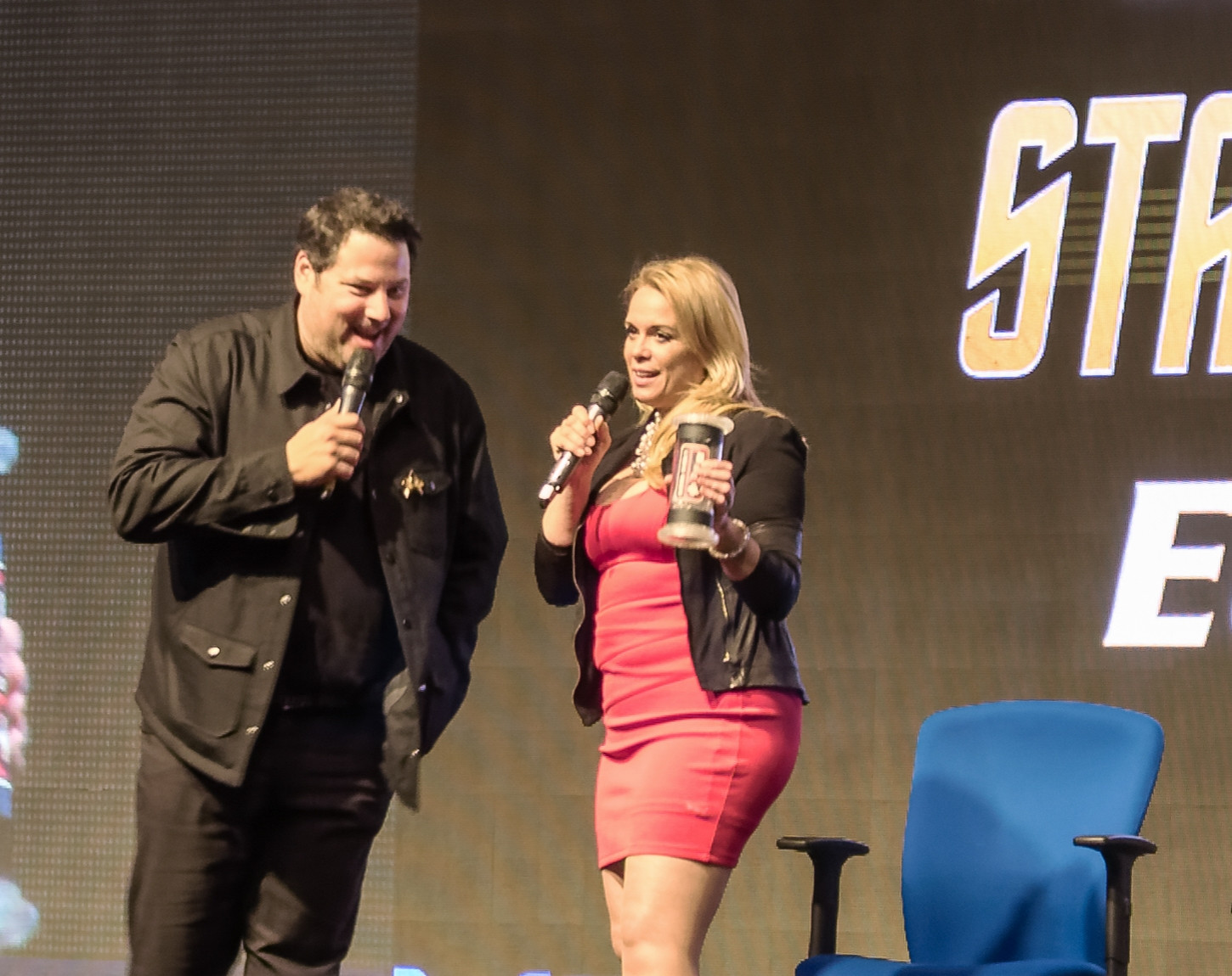 Greg Grunberg and Chase Masterson