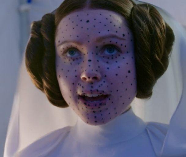 Ingvild as Leia