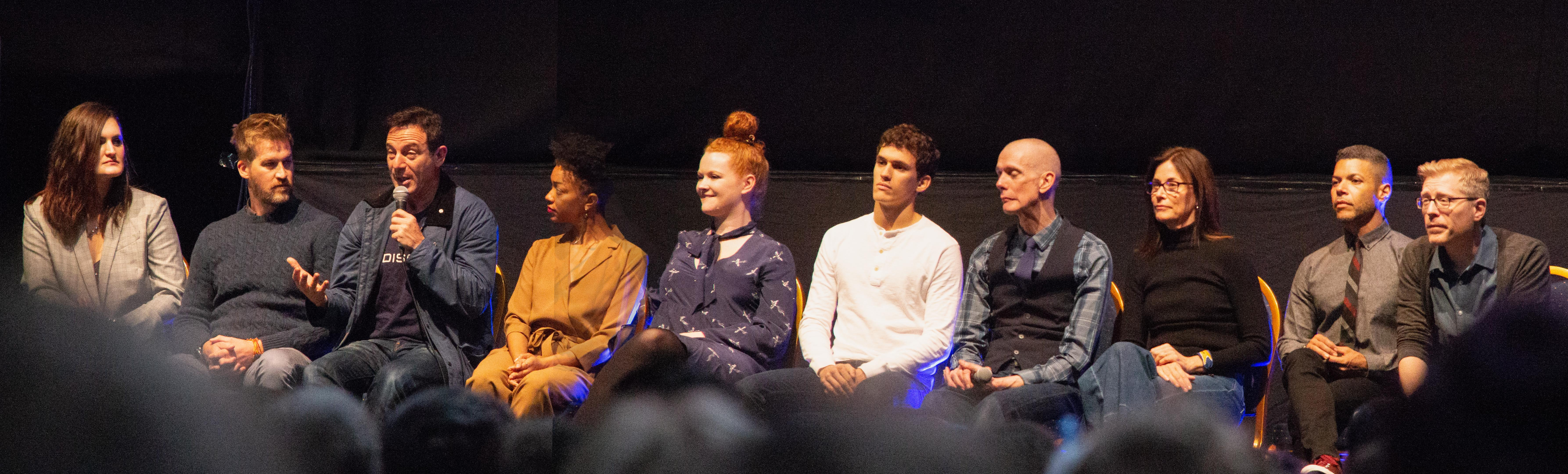The crew of Star Trek Discovery
