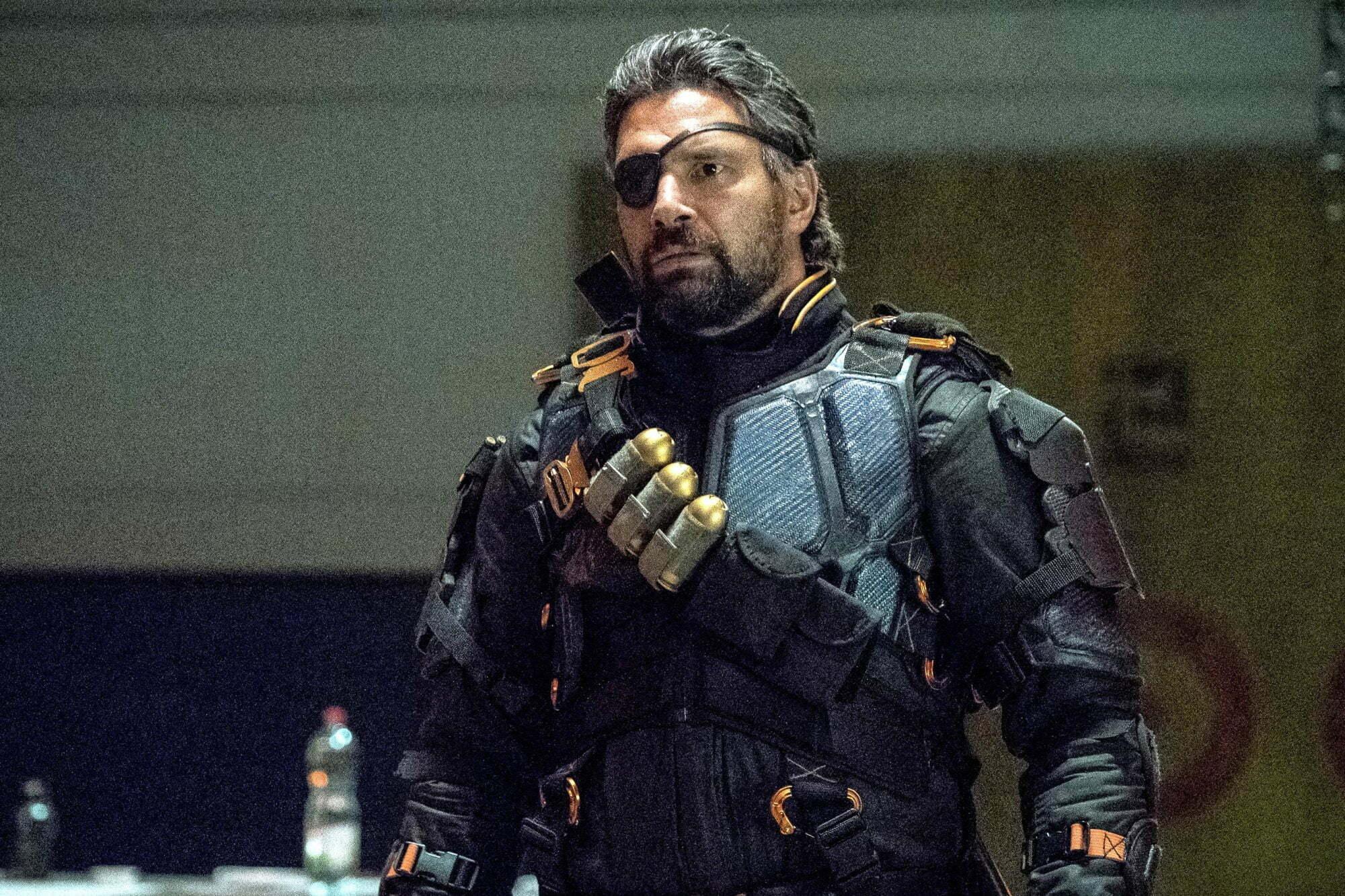Manu Bennett as Slade Wilson/Deathstroke