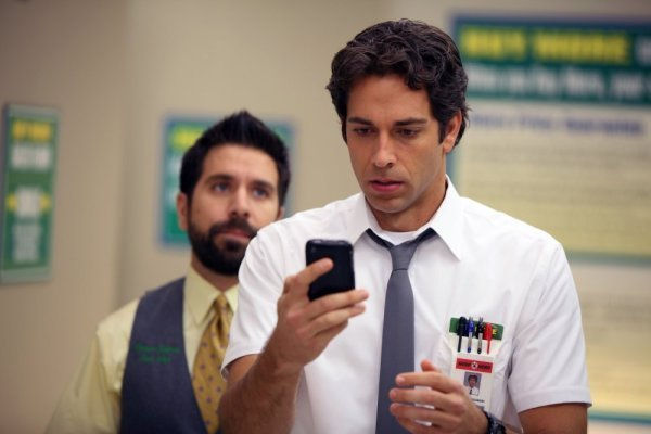 Zachary Levi as Chuck in Chuck