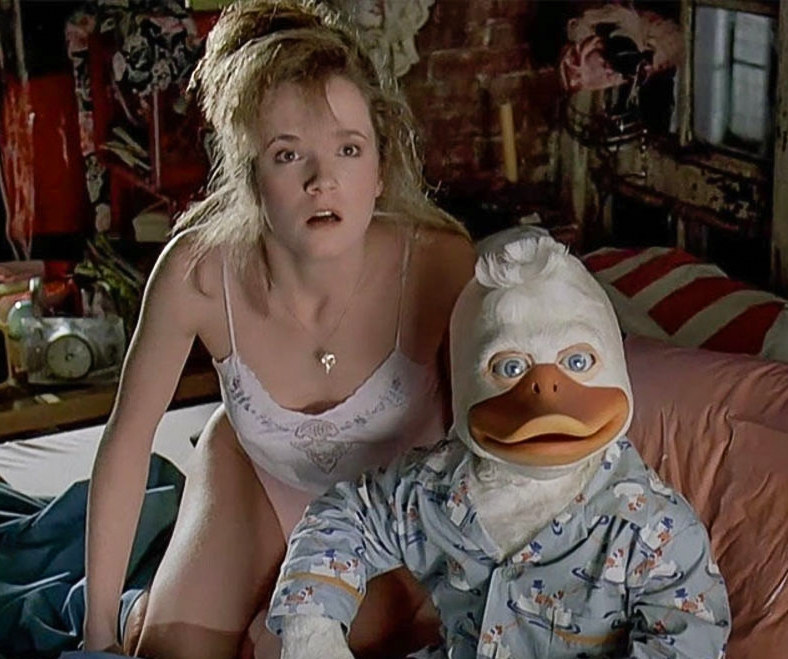 Lea Thompson in Howard the duck