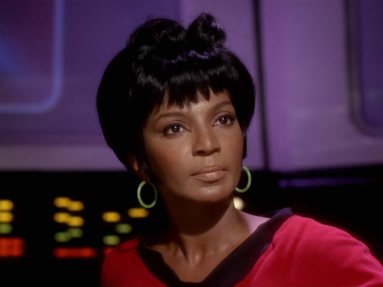Nichelle Nichols as Lieutenant Uhura