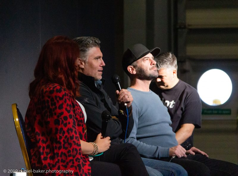 Anson Mount and Alan Van Sprang at Destination Star Trek 2019