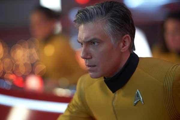 Anson Mount as Captain Pike in Star Trek Discovery
