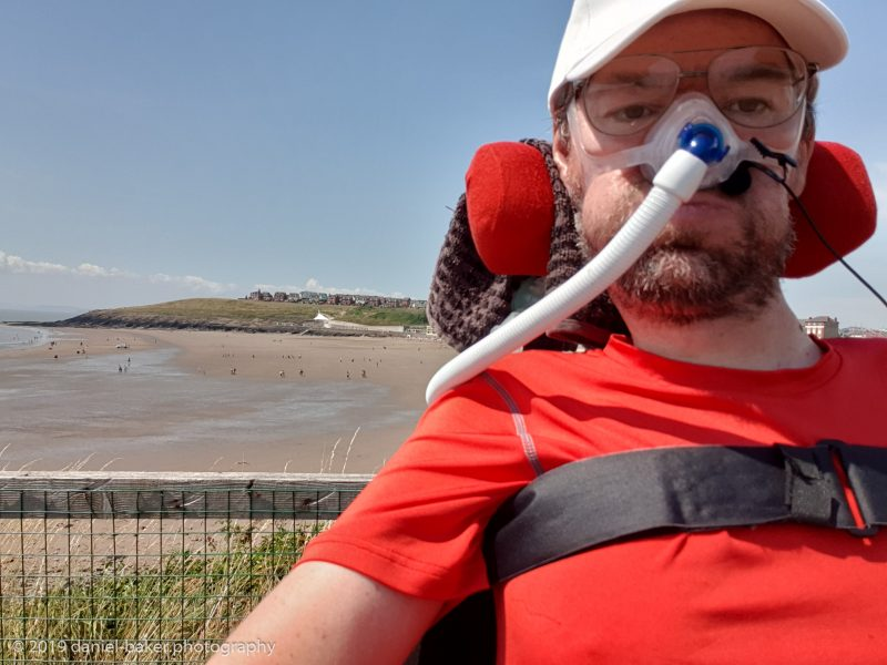 Daniel Baker at Barry Island