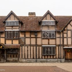 Old beamed house in Stratford-upon-Avon