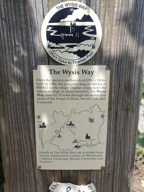 The Wysis way plaque
