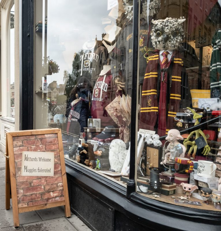 Harry Potter shop in Oxford