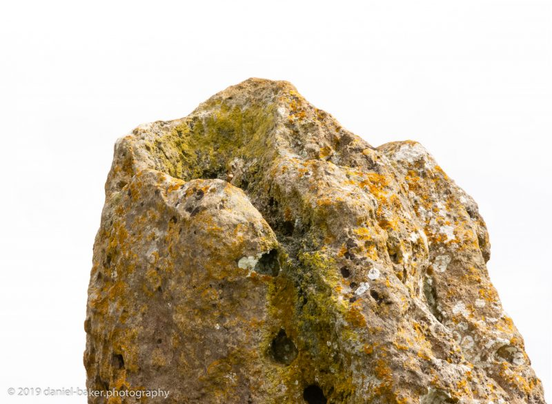 close up of a neolithic stone