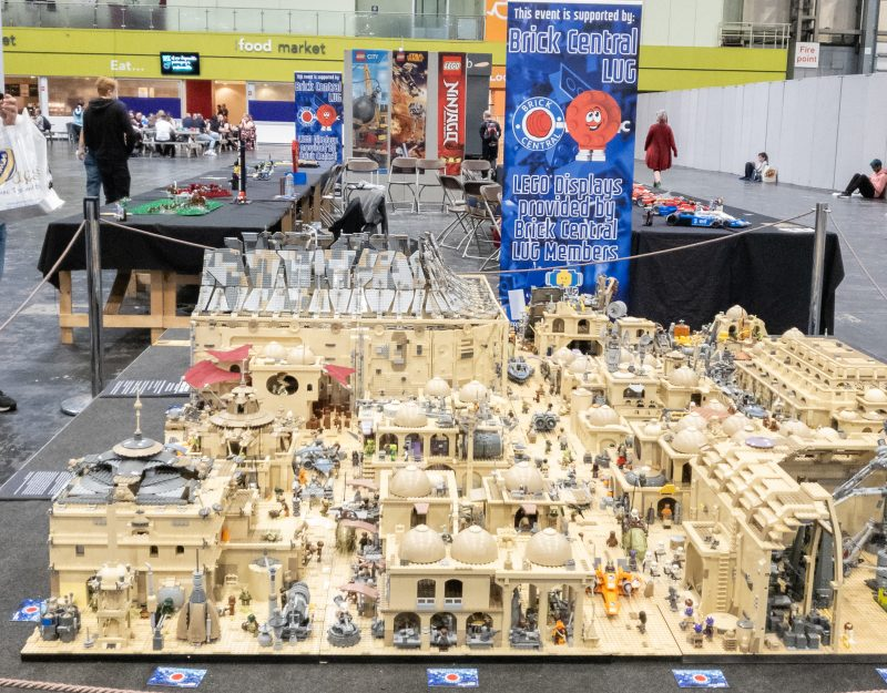 Star wars lego town at Collectormania 26
