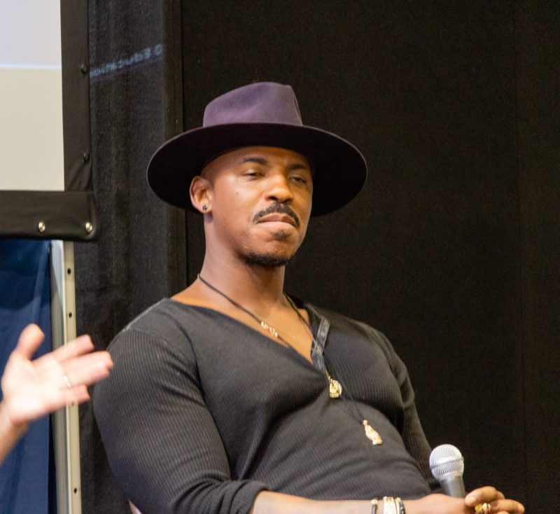 Mehcad Brooks on a panel at Collectormania 26