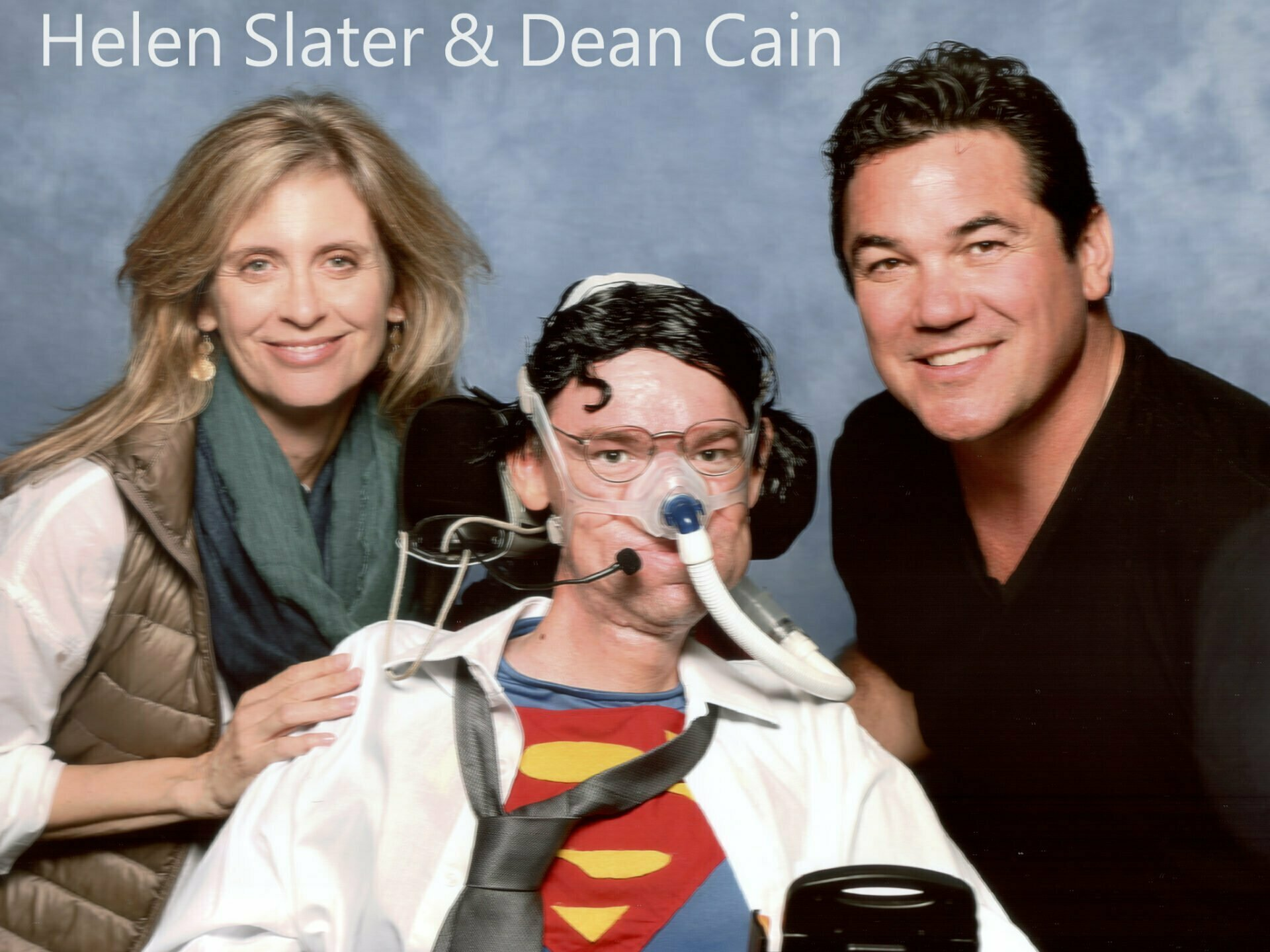 Helen Slater and Dean Cain 2017