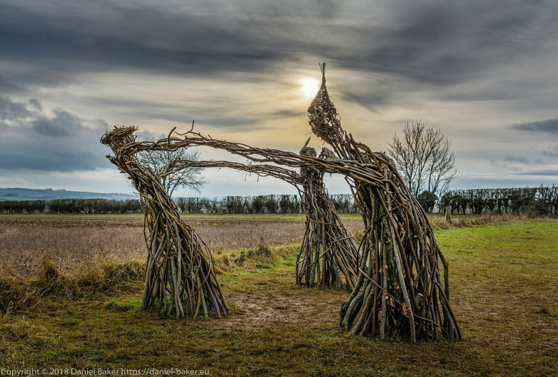 Wicker witches at the Rollright stones