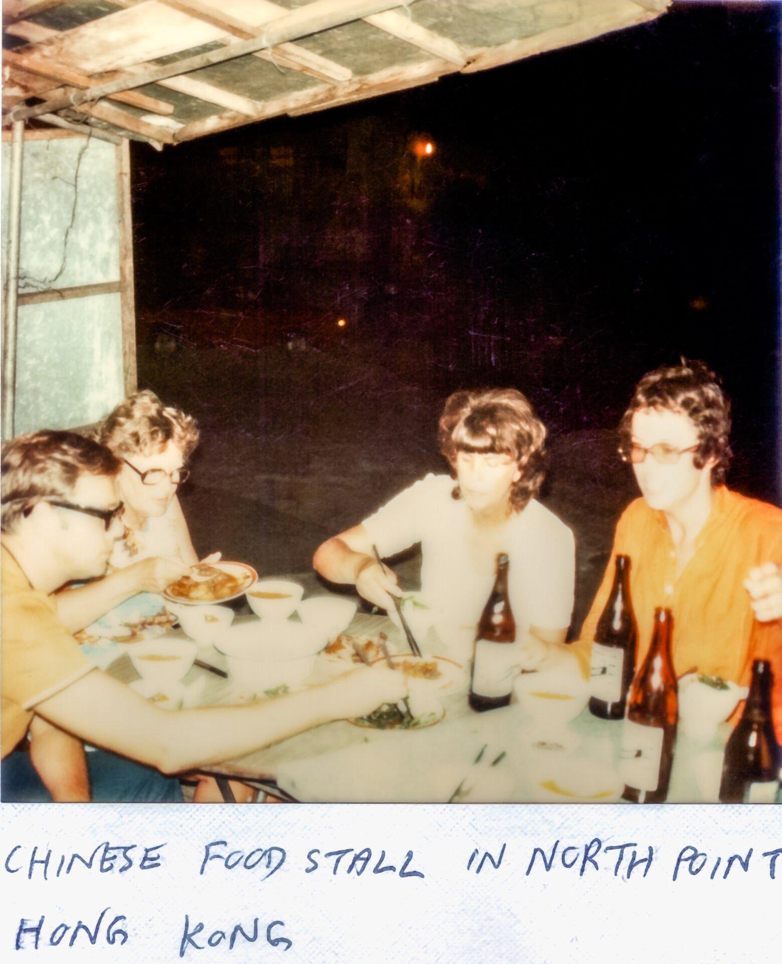 Chinese food stall north point Hong Kong Arthur Pat Olive