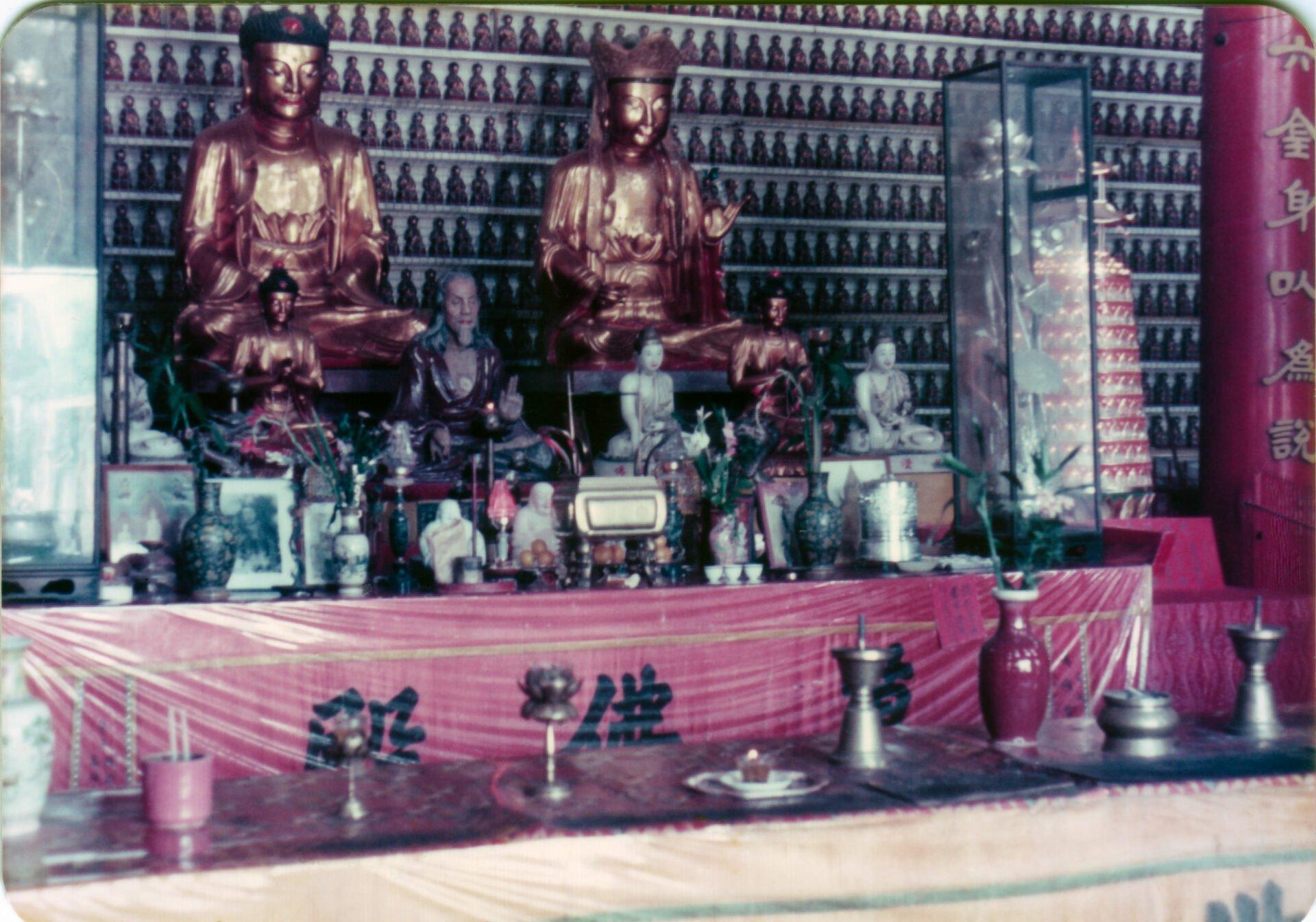 Temple of ten thousand Buddahs infact 12800 Hong Kong
